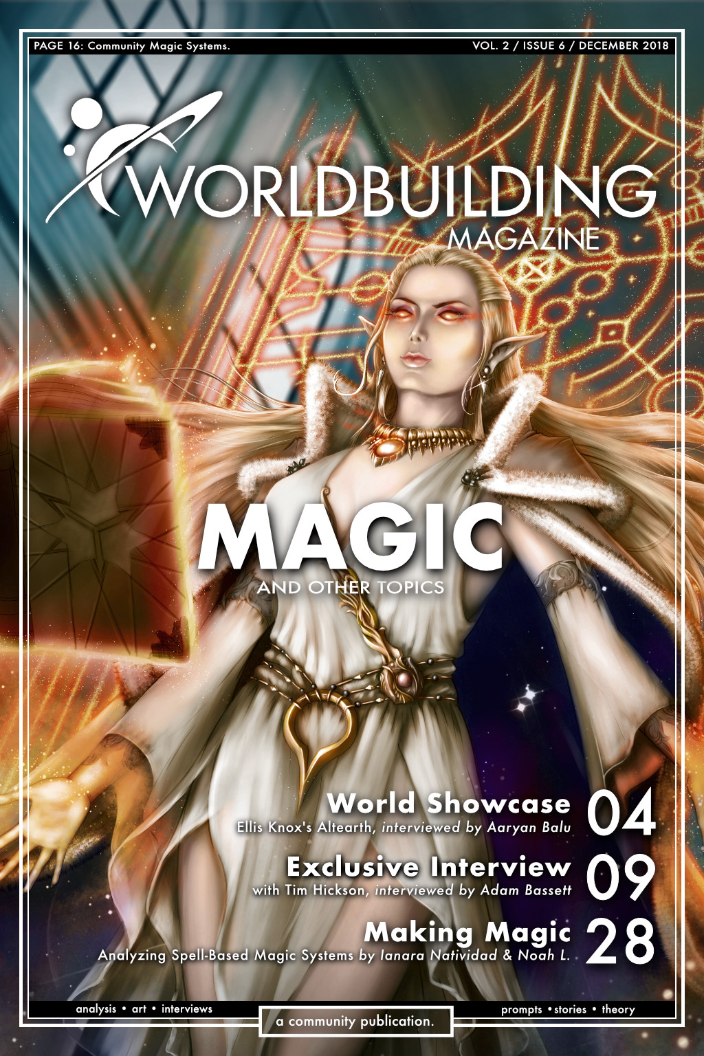 Worldbuilding Magazine Volume 2, Issue 6: Magic