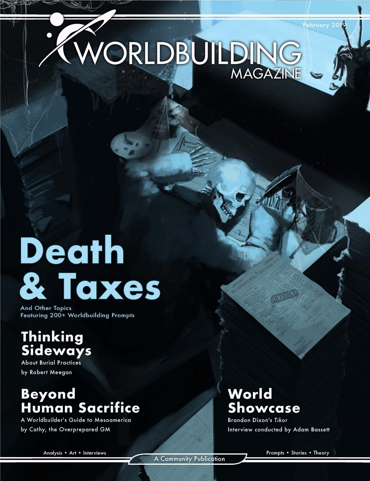 Worldbuilding Magazine Volume 3, Issue 1: Death & Taxes