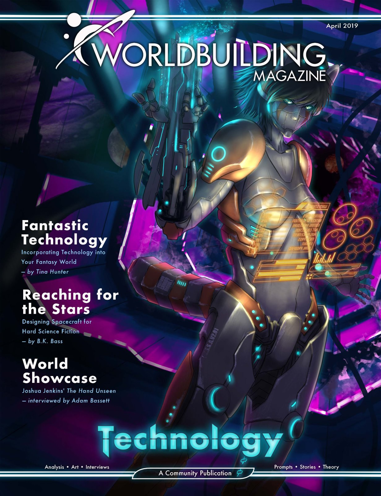 Worldbuilding Magazine Volume 3, Issue 2: Technology