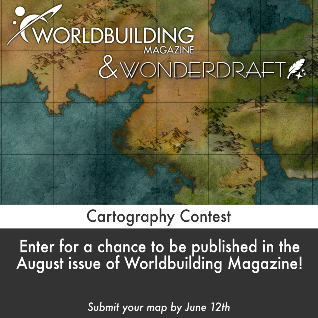 Worldbuilding Magazine & Wonderdraft Cartography Contest