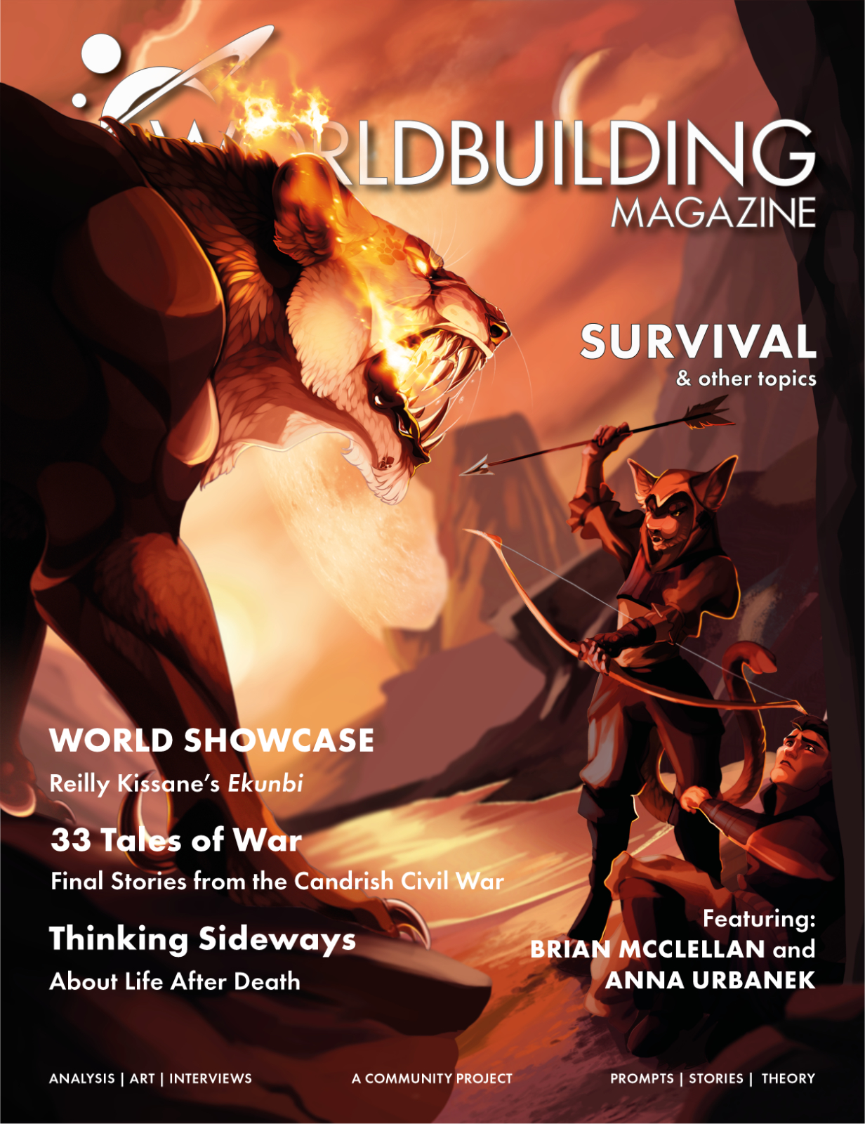 Worldbuilding Magazine Volume 4, Issue 6: Survival